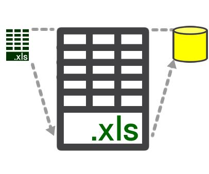 Excelをデータベースへ移行