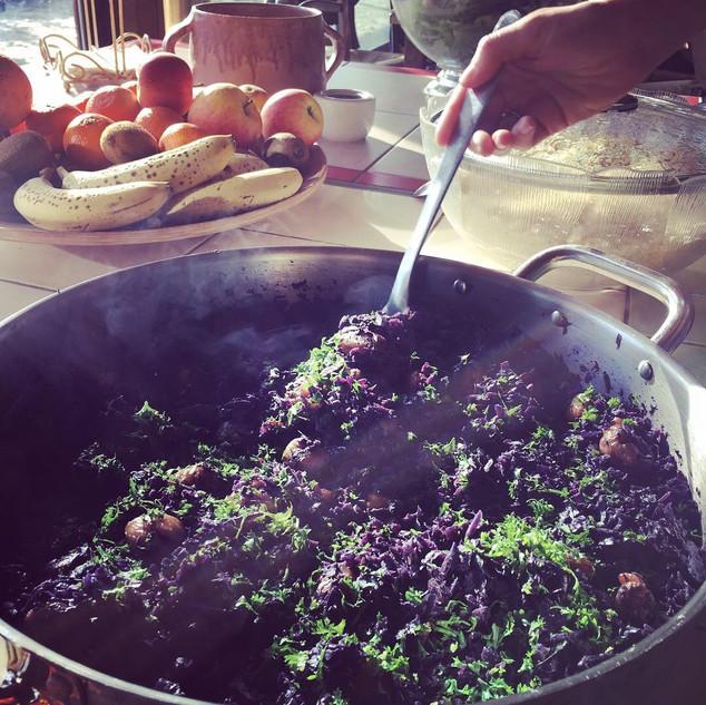 Cuisine végétarienne et fraiche