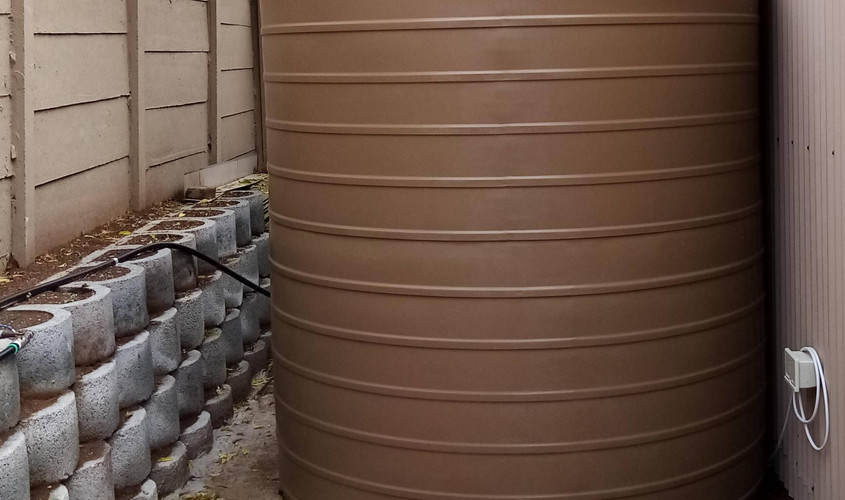 Existing Water Tank