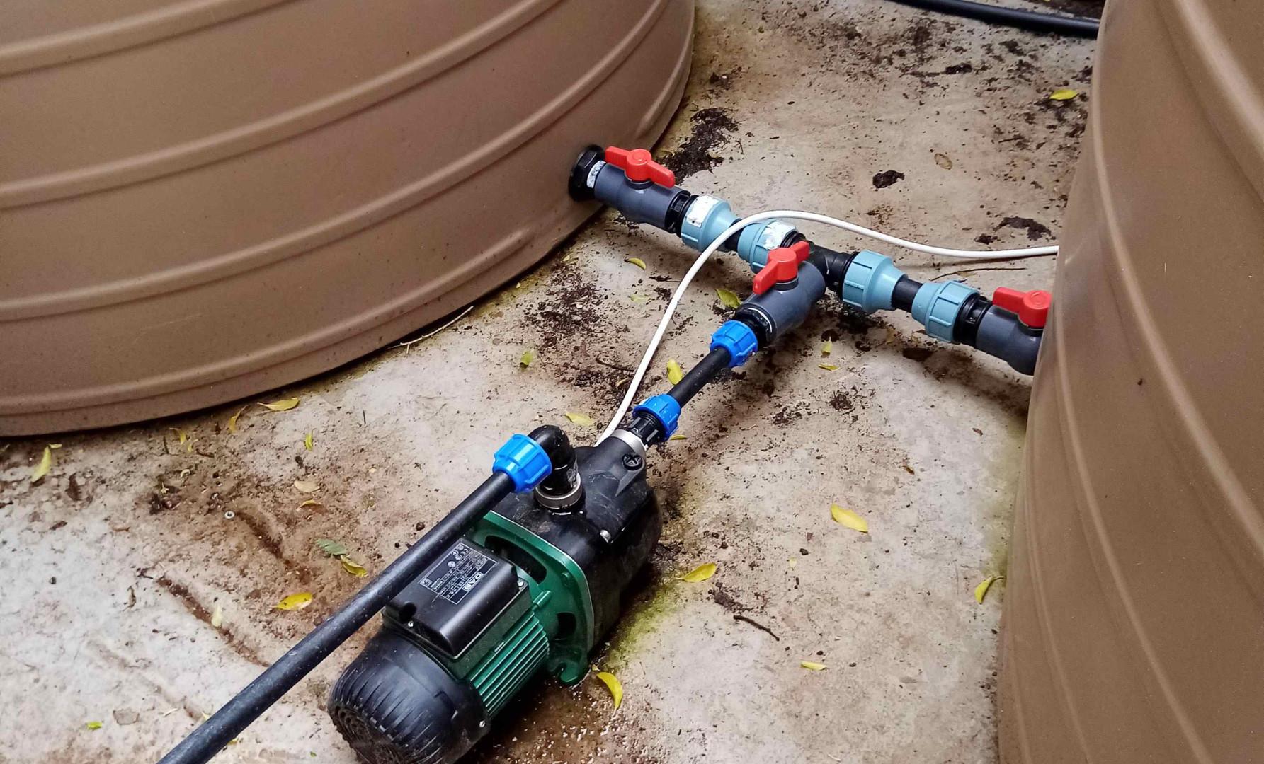 Adding Water Pump