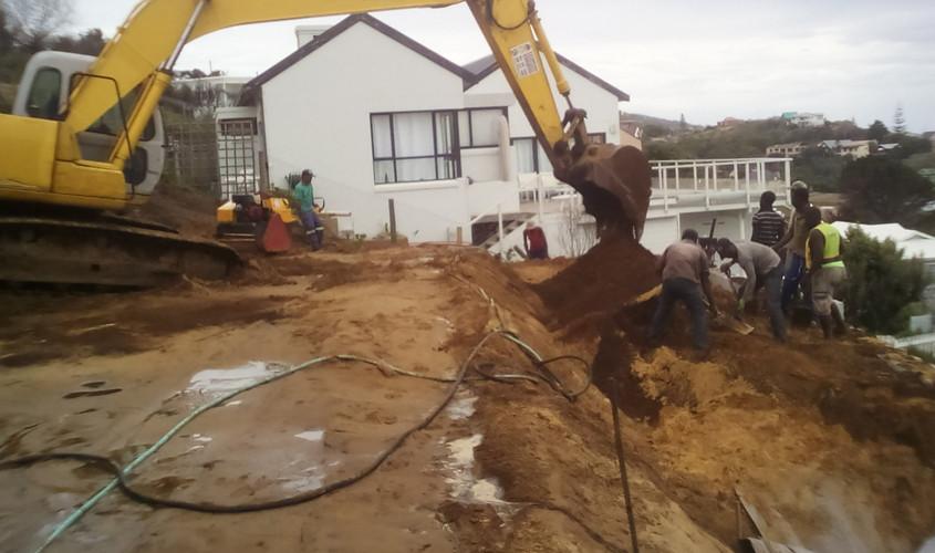 Site excavations begin