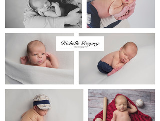 Newborn Oscar ~ 9 days