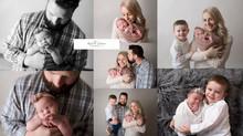 Parent/sibling poses ~newborn photography