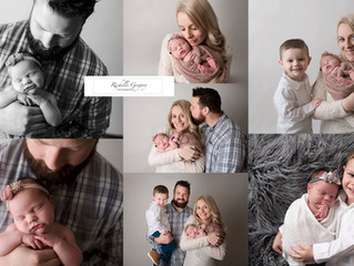 Parent/sibling poses ~newborn photography