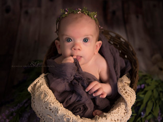 6 month Williamsport Baby J ~ Williamsport, PA photographer