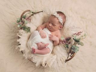 Matilda 7 day newborn ~ Williamsport Newborn Session