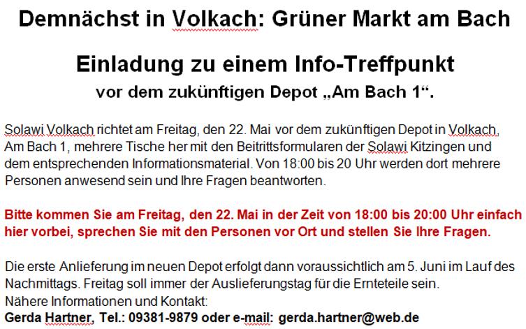 Greenshot - Einladung zum Info-Treff II.