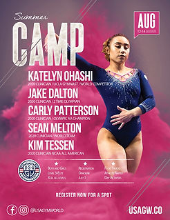 2021 Summer Camp USA Gym World