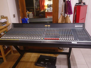Soundcraft 6000 mods - improving an already great console :)