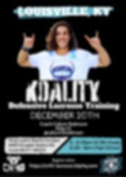 CR10 Koality Lacrosse - Louisville KY (1