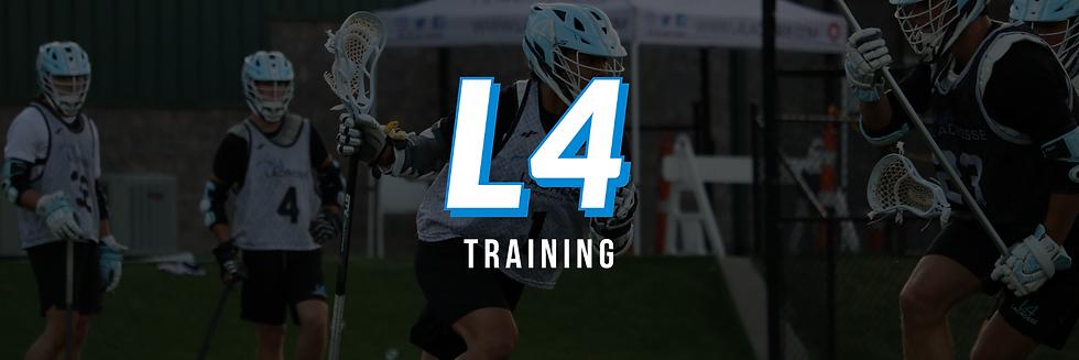 L4 Lacrosse Training