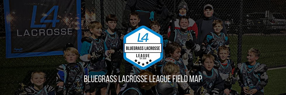 Bluegrass Lacrosse League Field Map