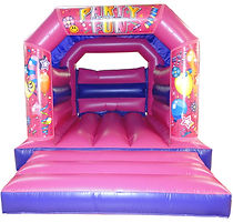 Kids Pink Bouncy Castle