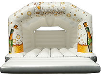 18ft celebration bouncy castle for hire