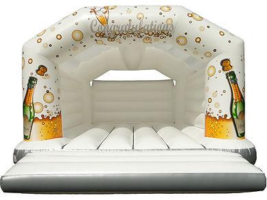 18ft celebration bouncy castle for hire