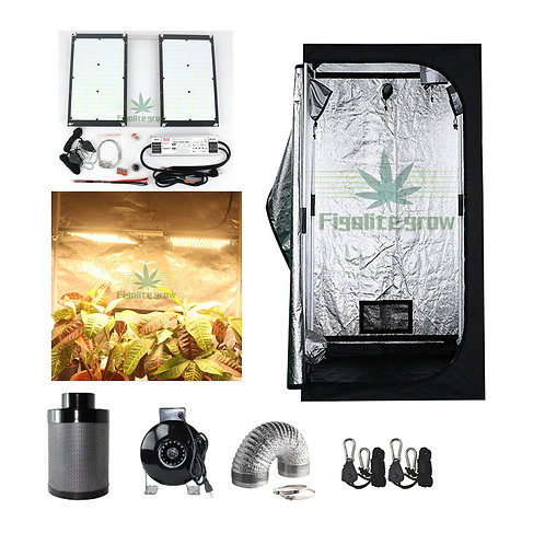 Grow Tent Kit Indoor System With LED Light