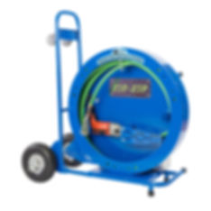 DRS ZIP-ZIP FLEET Flex Shaft Sewer and Drain Cleaning Machine from Drain Rehab Solutions