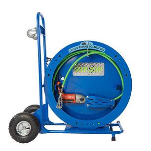 DRS ZIP-ZIP FLEET Flex Shaft Drain Cleaning Machine