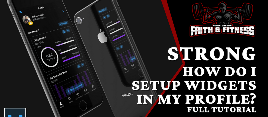 Strong Workout App | How Do I Setup Widgets in Strong for iOS?