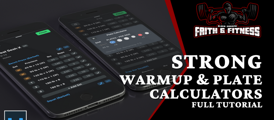 Strong Workout App | How to use Warmup & Plate Calculators?
