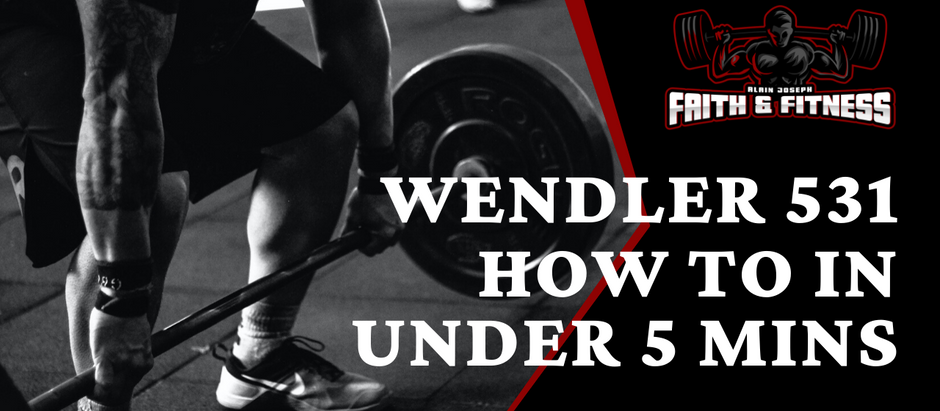 Wendler 531 | How to in under 5 mins!