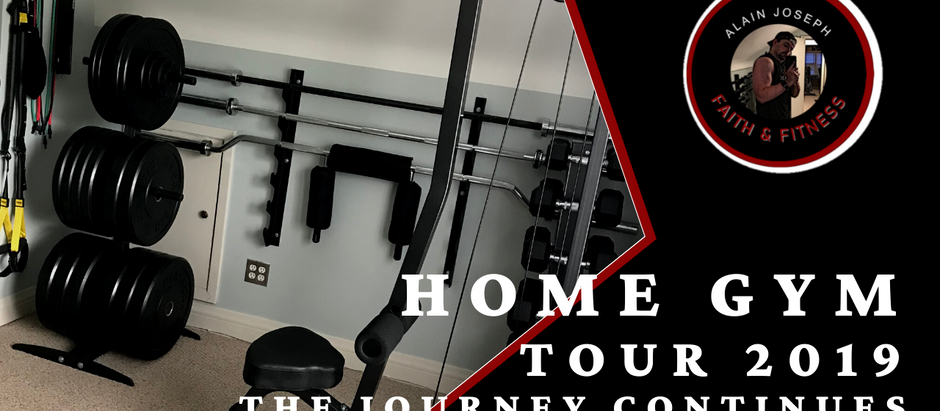 Home Gym Tour 2019 | The Journey Continues