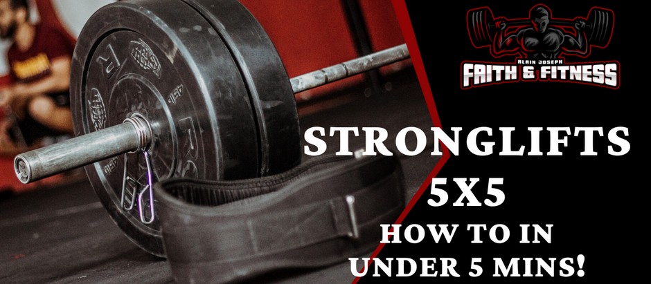 StrongLifts 5x5 | How to in under 5 mins!