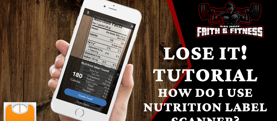 Lose It! App Tutorial | How to use the Nutrition Label Scanner