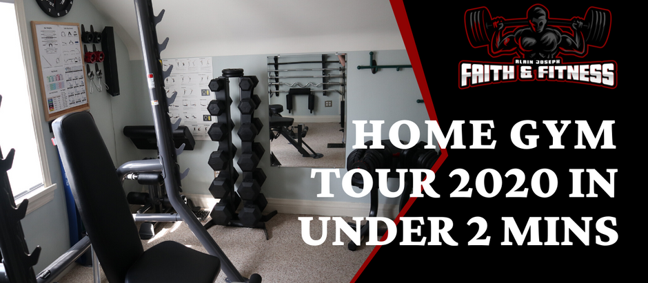 Home Gym Tour 2020 | In Under 2 Mins