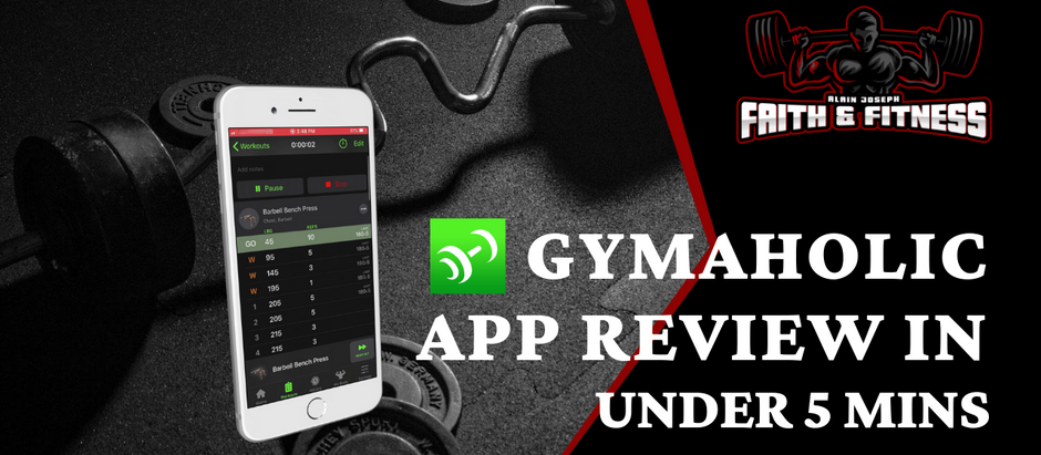 Gymaholic Workout App | My Review in under 5 mins