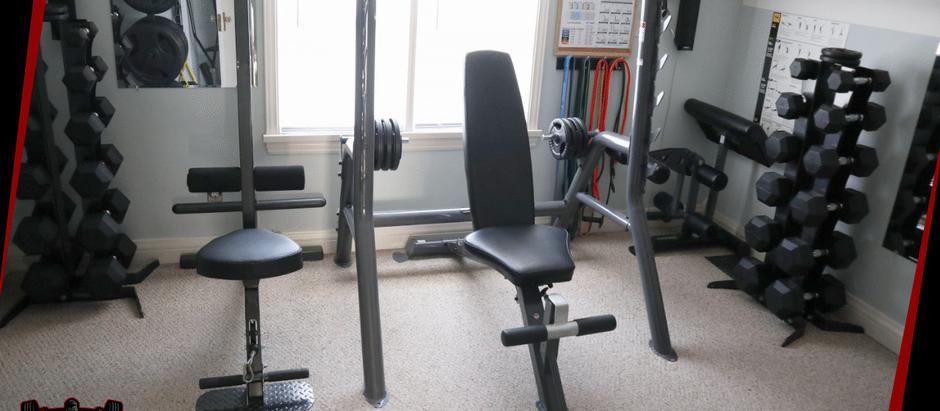 Home Gym Tour 2021 | In Under 2 Mins!