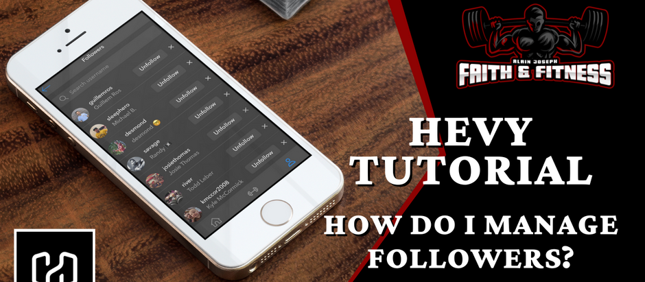 Hevy Workout Tracker | How do I manage followers?