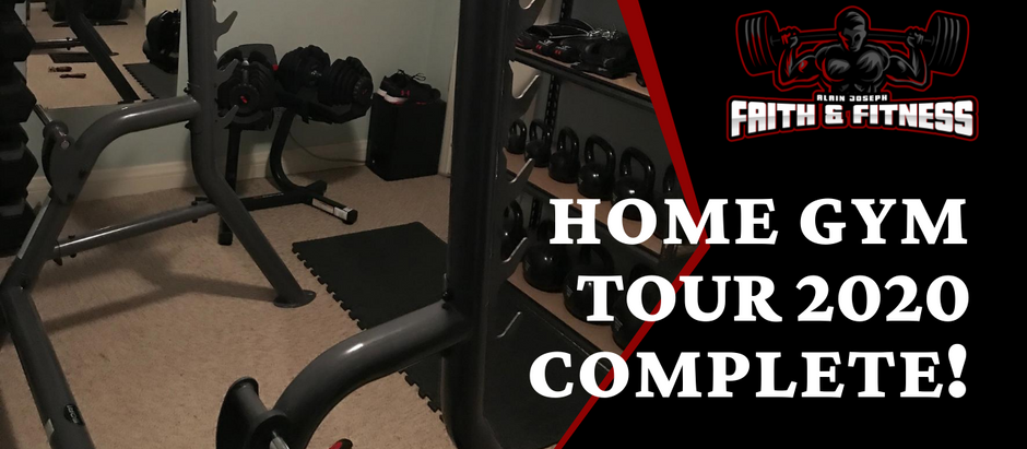 Home Gym Tour 2020 | Extended Edition!