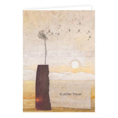 """Trauerkarte Löwenzahn """"In stiller Trauer"""""""