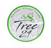 Logodesign für das Kunstprojekt Tree21