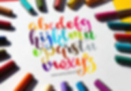 Brushpen Alphabet Workshop Wunschbriefe