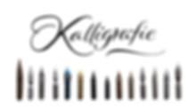 Spitzfedern Kalligrafie