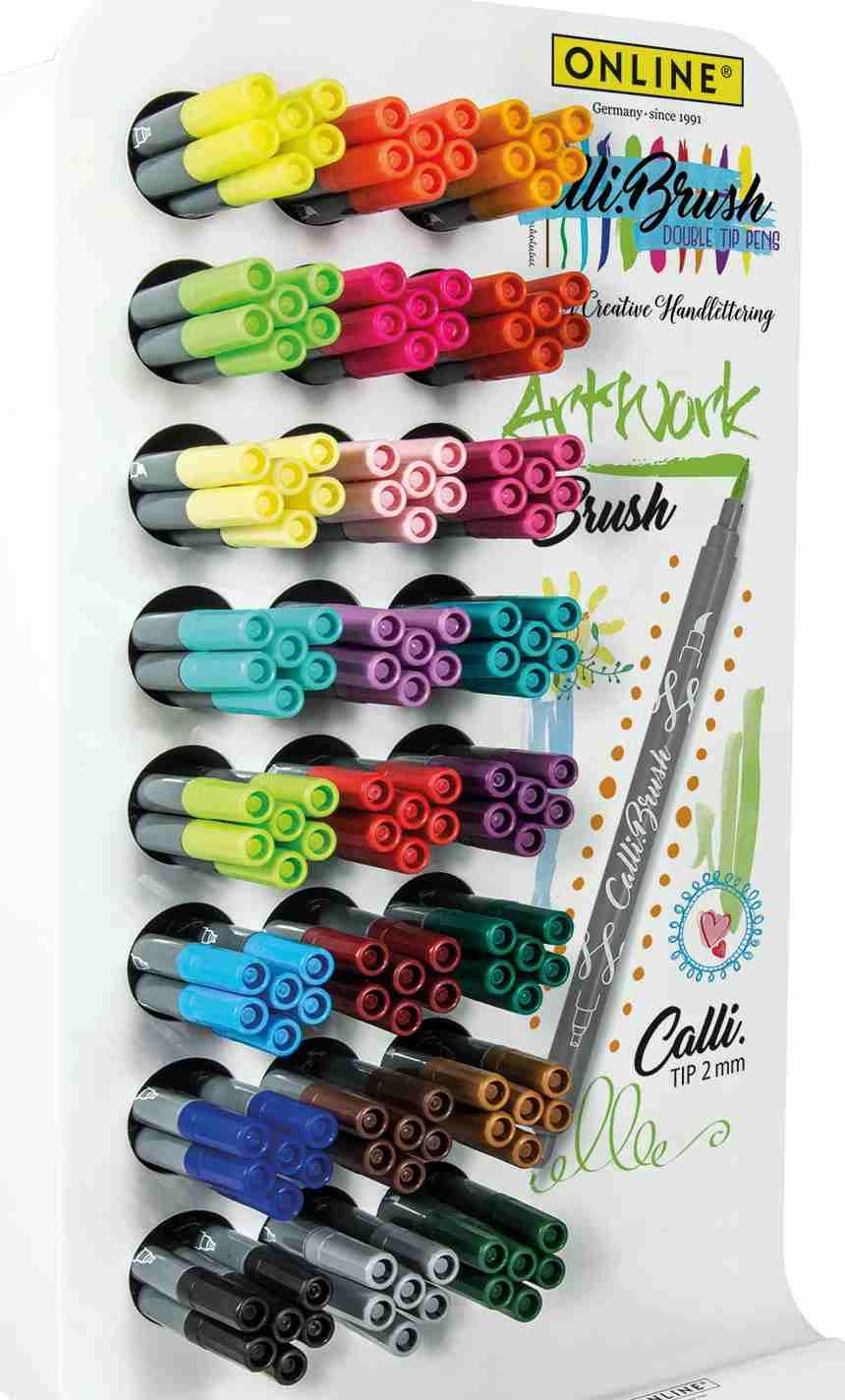 Farbenvielfalt der Calli.Brushes