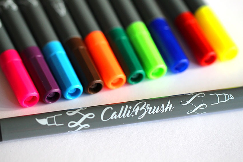 Wunschbriefe Stiftetest Calli.Brushes Fa. ONLINE