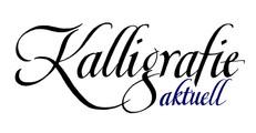 """Logo für Magazin """"Kalligrafie aktuell"""""""