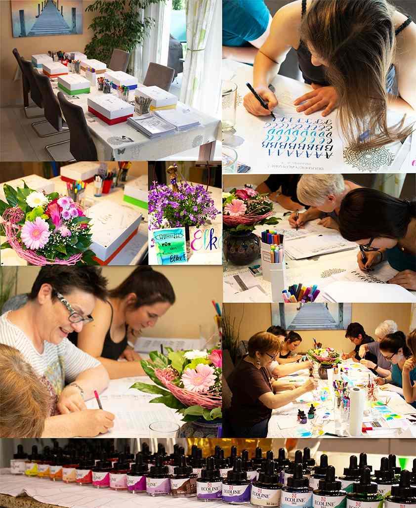 Kalligrafie-Kurse und Workshops