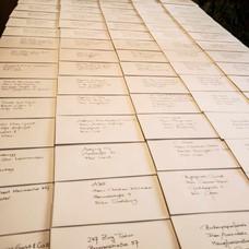 Handschriftliche Kuverts