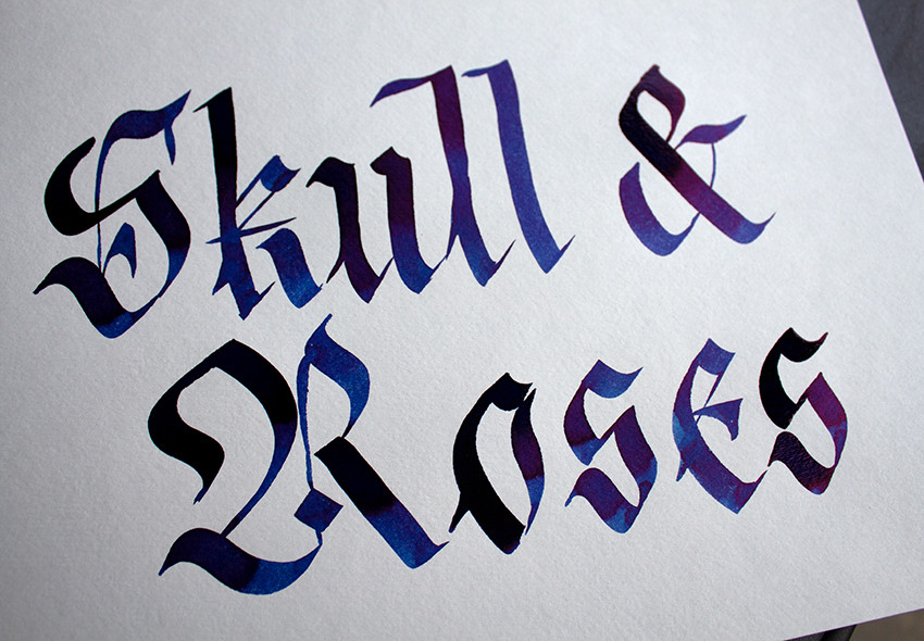 Skull & Roses Tinte Diamine