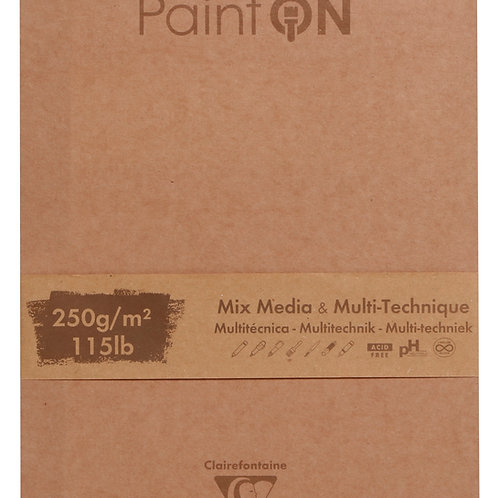 Paint'ON Block | 50 Blatt | 17,6 x 25cm