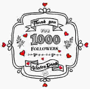 Handlettering - Dankesschreiben an Follower