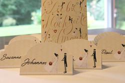 Wunderschöne Tischkarten-Motiv