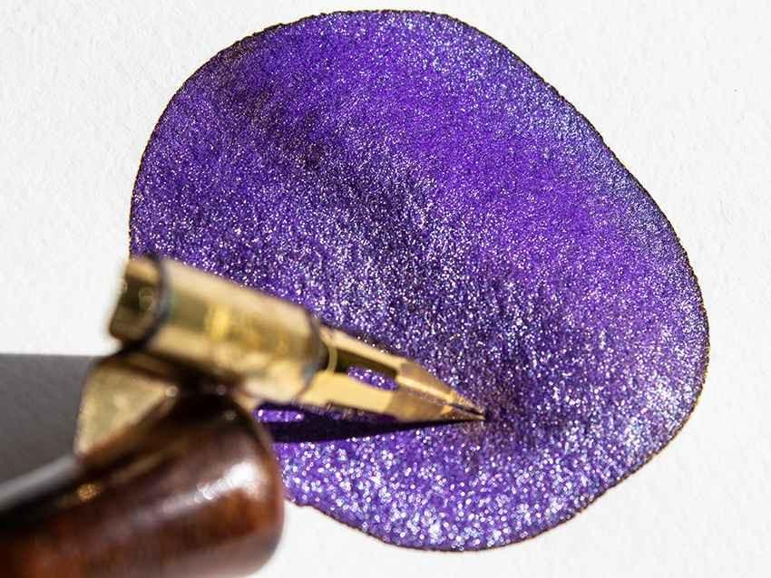 Diamine Lilac Satin, mein Obliqueholder