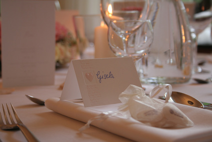 Hochzeit Tischkärtchen