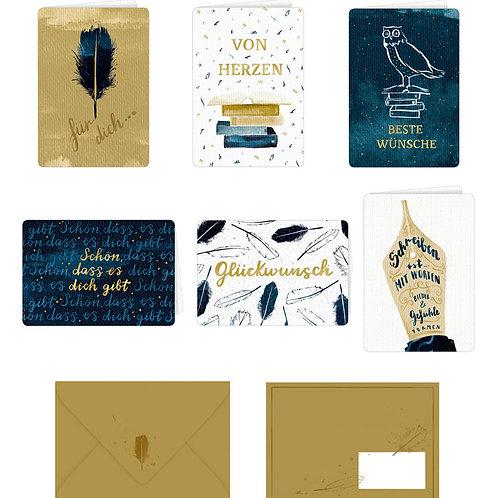 Grußkarten mit Kuvert