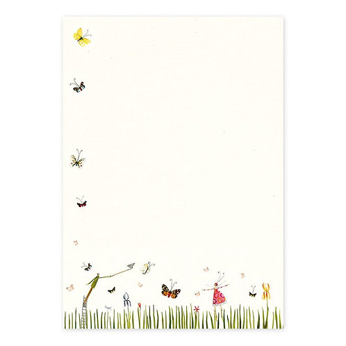 Briefpapier-Set Schmetterlinge
